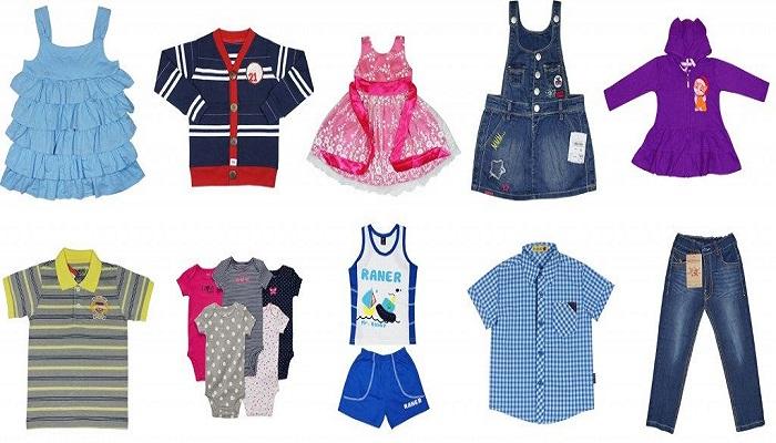 Quần áo trẻ em từ vải vụn