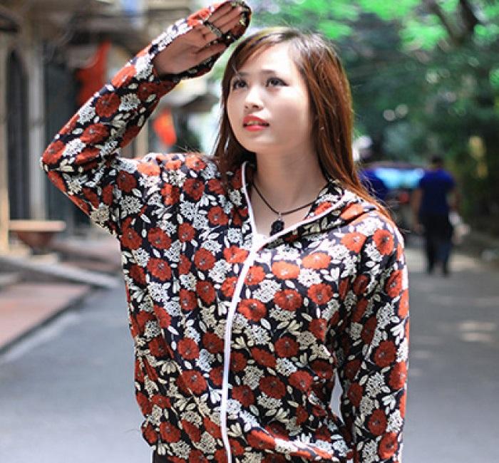áo chống nắng vải lanh