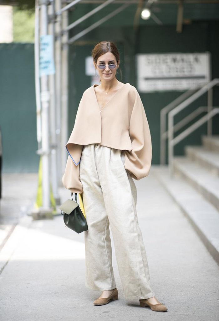 Quần áo từ chất liệu lanh