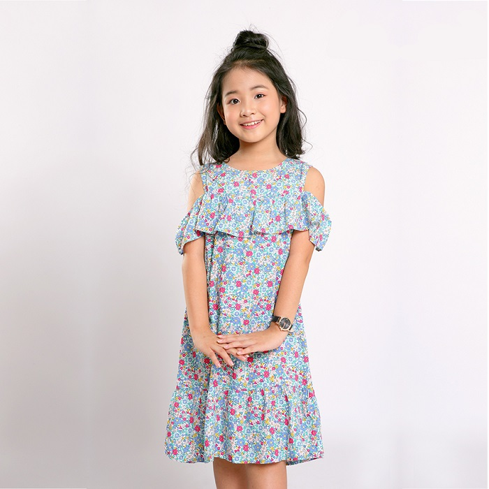 váy lanh trẻ em