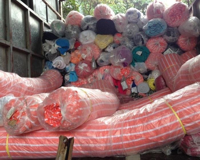 thu mua và tái chế vải